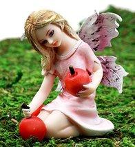 "Ebros Gift Enchanted Fairy Garden Prune Cherry Faerie Figurine 3.5"" H Mi... - $16.82"