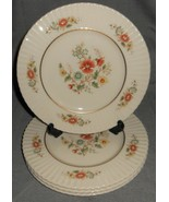 Set (4) Lenox TEMPLE BLOSSOM PATTERN Salad Plates MADE IN USA - $98.99
