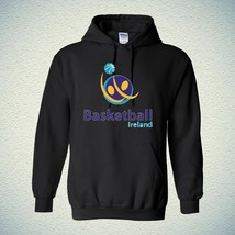 00197 BASKETBALL FIBA Ireland Hoodie Unisex Hooded Sweatrshirt with Fast Shippin - $25.99+