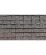 DOLLHOUSE MINIATURE BLACK ARCHITECTURAL ASPHAULT SHINGLES SET  #AM4001A - $14.99