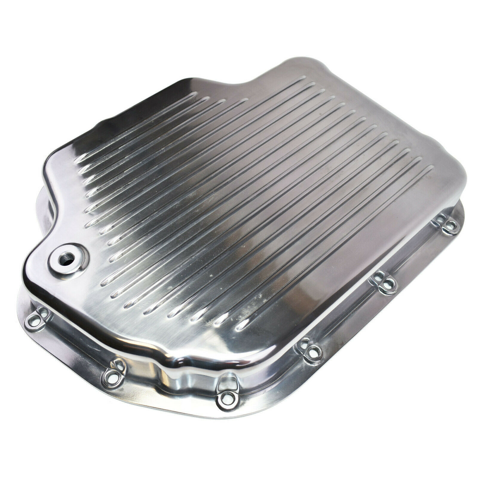 GM Turbo-Hydramatic TH400/THM400 Aluminum Transmission Pan w/ Gasket And Bolts