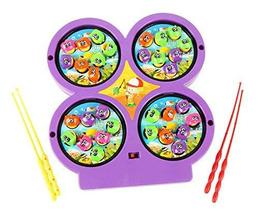 PANDA SUPERSTORE Fishing Toys for Children Early Childhood Educational Toys, D(1