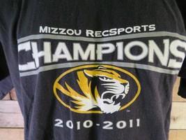 Mizzou Recsports Champions 2010-2011 T-Shirt Größe M - $4.15