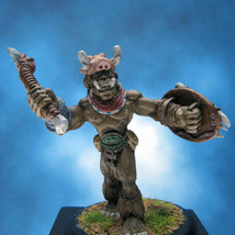 Painted Ral Partha Miniature Orc Champion - $47.60