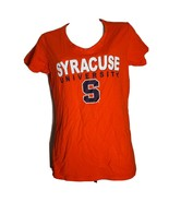 Syracuse University T-shirt Tee Short Sleeve Medium Champion Women's Orange - $9.89