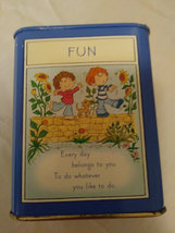 Vintage Hallmark Coin Tin Collectible Adventure, Fun,Discovery,Imagination Child image 5