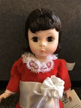 "Madam Alexander Little Women w tag 7"" Priest dolls lot red and white outfit - $19.75"