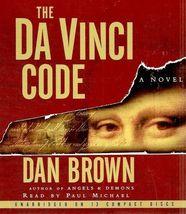 Robert Langdon: The Da Vinci Code by Dan Brown (2003, CD, Unabridged) - €23,23 EUR