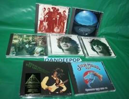7 Steve Miller Band Assorted Music CD's With Anniversary DVD Sealed  - $98.99
