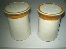 Mikasa Stone Manor Salt & Pepper Shakers  F5800 Japan excellent - $18.99