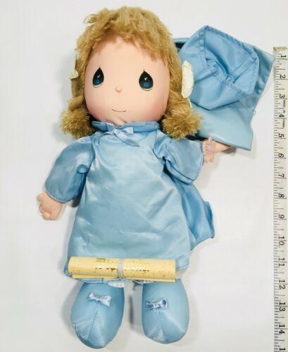 "Vintage 1985 Applause Rag Doll Plush Precious Moments "" Dorothy"" Graduation"