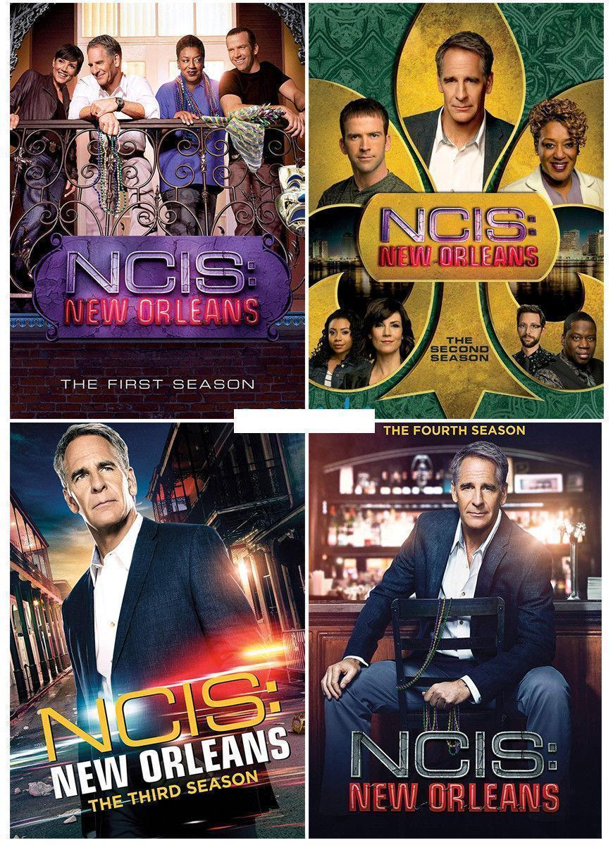 NCIS: New Orleans The Complete Series Seasons 1 2 3 & 4 DVD Set [New]