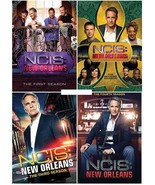 NCIS: New Orleans The Complete Series Seasons 1 2 3 & 4 DVD Set [New] - $68.98