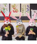 Animal Cute Rabbit Head Mask DIY Live Performance Props - $18.99