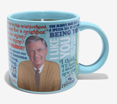 Mister Rogers Mug Heat Activated Sweater Changing Mr. Fred Rogers Neighborhood   image 6