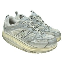 SKECHERS Shape-ups Womens Size 9 Retro Chunky Gray Toning Sneakers Shoes  - $29.69