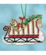 Toyland Sleigh 2017 Charmed Sleigh Ride Ornaments cross stitch kit  Mill... - $7.20