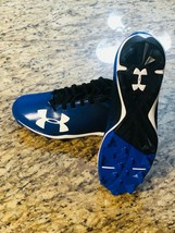 New Under Armour Leadoff Low Rm Mens Bb Cleats Sz 12 Blue 1297317 001 #New #Ua - $28.59