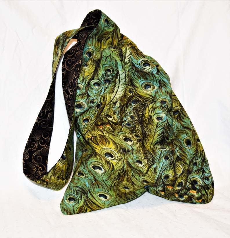 Primary image for Peacock Feathers Knot Bag