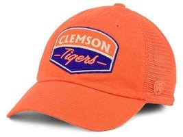 Clemson Tigers Mens TOTW Society Adjustable Trucker Hat Cap - OSFM - NWT - $14.49