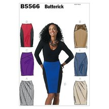 Butterick Patterns B5566 Misses' Skirt, Size EE (14-16-18-20) - $14.70
