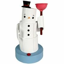 Hallmark Jokin' in the John Christmas Figurine, Holiday Snowman, Motion - $150.05