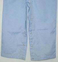 Ellie O Gingham Full Lined Longall Size 2 Color Blue Cotton Polyester Blend image 3