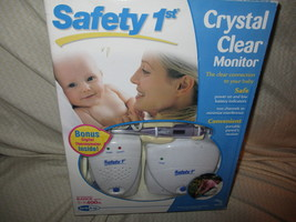 Safety 1st Crystal Clear Monitor With Bonus Digital Thermometer  - $29.99