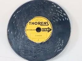 "Vintage Music Box Disc Lorelei  #1 THORENS 4.5""  Switzerland - $9.80"