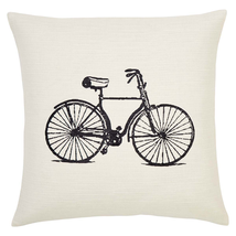 "Along For The Ride Pillow - 18""x18"" - VHC Brands - Country Farmhouse Style"