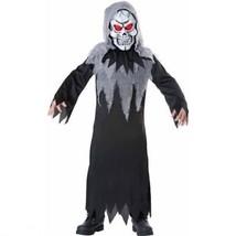 NEW Glowing Reaper Costume Halloween Childrens Boys Size Medium 8 - $15.95