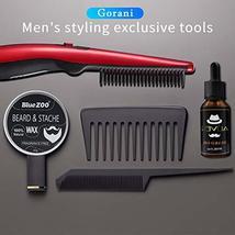 Beard Straightener Brush Comb for Men, Ergonomic Beard Brush Straightening Elect image 7
