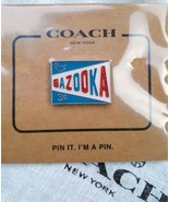 """New Sealed Package """"COACH"""" Retro Bazooka Bubble Gum Collectible Pin F27355 - $19.99"""