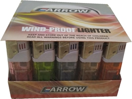 Lot of 50 Arrow Wind Proof lighters free shipping - $27.99