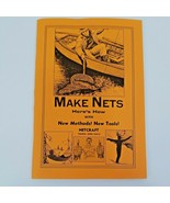 """Vintage 1976 """"Make Nets """" Netcraft Ludgate with Net making kit! - $37.00"""