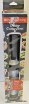 Everyday Living Deluxe Cookie Press 20 Discs 6 Decorating Tips Appetizer... - $10.86