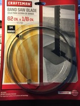 Craftsman Olson 62 Inch x 1/8 Inch 14 TPI Hook Tooth Band Saw Blade - $19.98