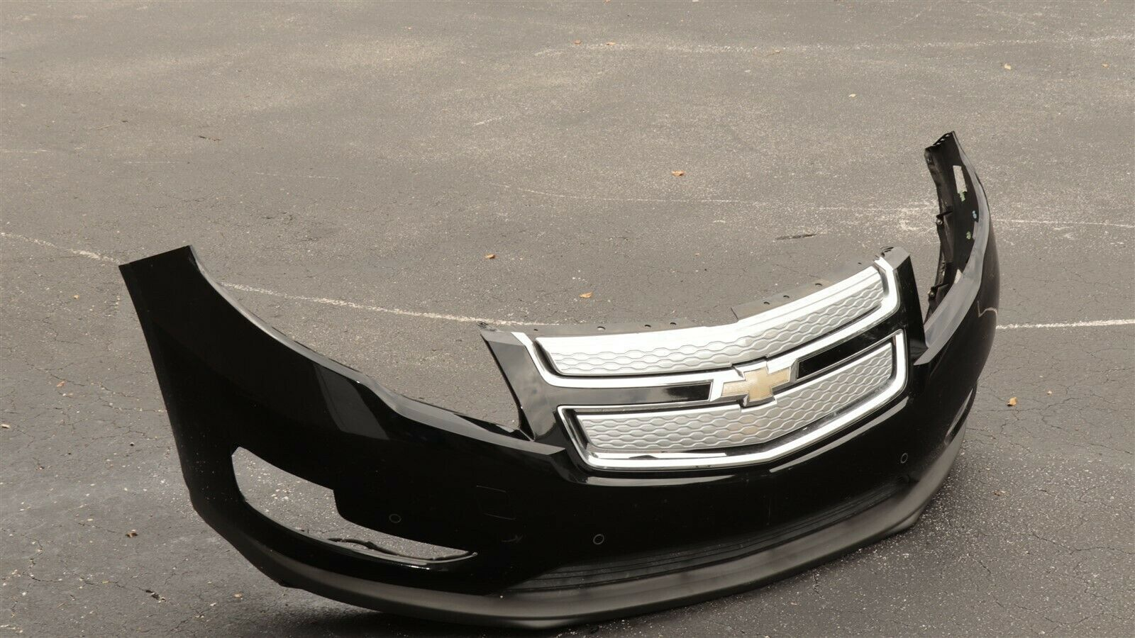 2011-15 Chevy Chevrolet Volt Upper & Lower Front Bumper Cover W/Grill