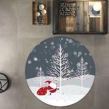 3D Christmas Xmas 234 Non Slip Rug Mat Room Mat Round Quality Elegant Carpet AU - $65.06+