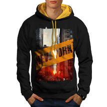 New York City Street USA Sweatshirt Hoody Modern City Men Contrast Hoodie - $23.99+