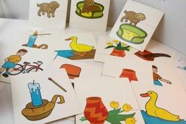 vintage educational sequence cards ephemera wal... - $15.00