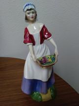 Dawn Young Girl Royal Douton 1989 Figurine V.G Condition  image 1