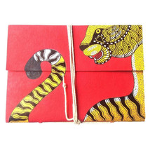 Gond Flap Diary - Tiger - $55.00