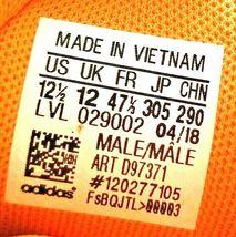 adidas SM Mad Bounce Mens 12.5 D97371 Basketball Shoes Orange & White 2018 image 12