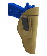 New Barsony Olive Drab Leather Tuckable IWB Holster Full Size 9mm 40 45 ... - $32.99