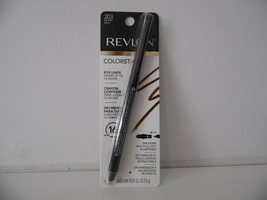 Revlon Colorstay Eye Liner #203 Brown with Pull-Out Sharpener Factory Se... - $7.91