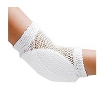 FLA Heel/Elbow Protector-Open Mesh-Uni-White - $27.92