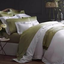 Sferra Giotto Green King Sheet Set Celadon 100% Egyptian Cotton Sateen Italy NEW - $650.00