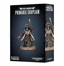 "Games Workshop 99120101180"" Space Marines Primaris Chaplain Plastic Kit - $31.50"