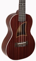 Eddy Finn EF-75MC all Solid Mahogany Ukulele - $189.95